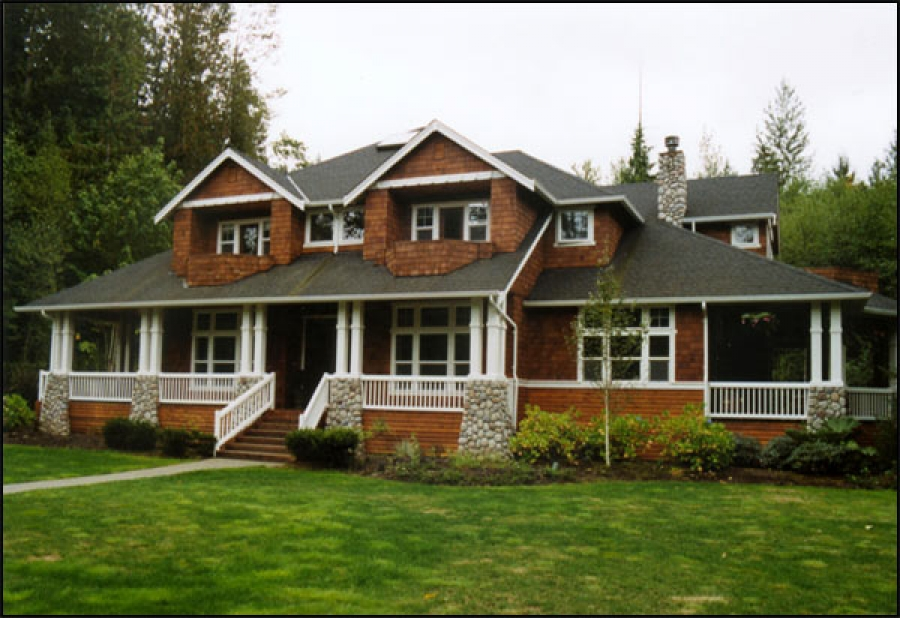Thornberg construction company inc custom homes for Custom build your home